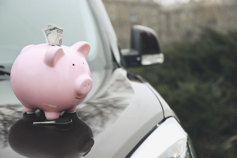 Car Rego Piggy Bank
