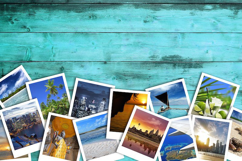 Travel Collage of Pictures