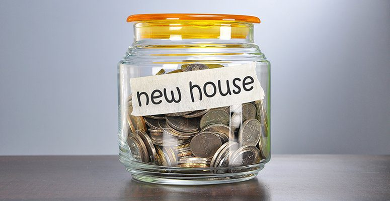 Saving for a new house