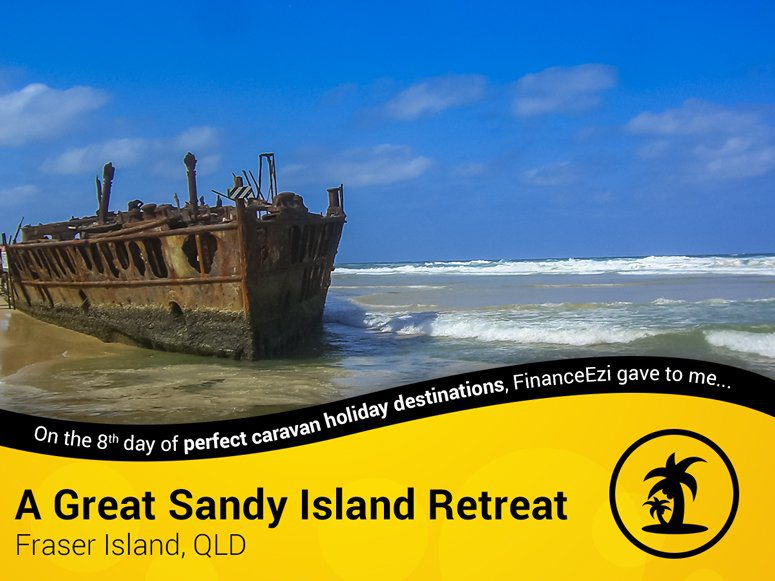 Ship Wreck at Fraser Island
