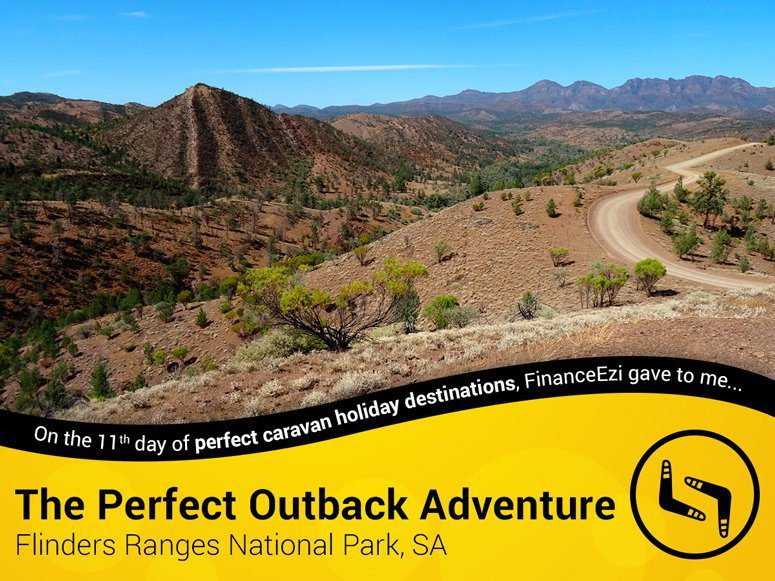Flinders Ranges National Park - Outback Adventure
