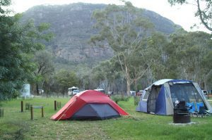 Campers at The Grampians National Park