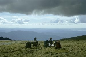 The view from Kosciuszko National Park