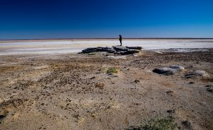 View at Lake Eyre