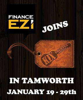 Kix & Finance Ezi in Tamworth 19th - 29th January 2017