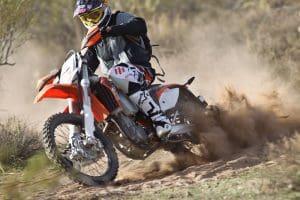 Duo KTM 500 EXC Sportbike