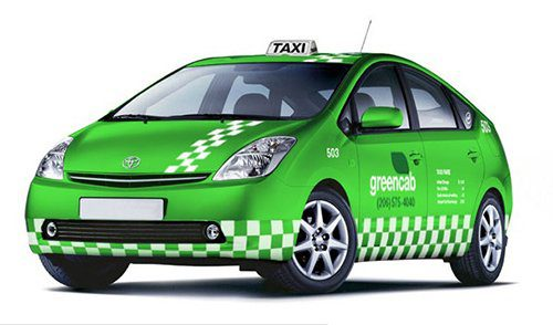 Green taxi from US