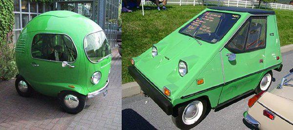 Strange Green Cars