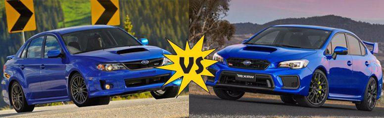 Subaru Impreza WRX vs Subaru Impreza WRX sti