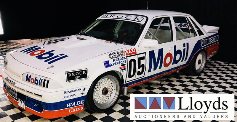 Peter Brock Auction