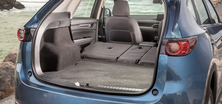 Mazda CX 5 boot space